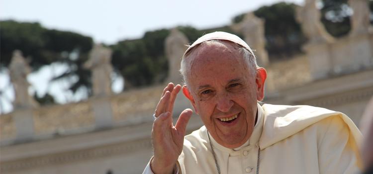 PAPA FRANCESCO: 'Il coraggio di rischiare per la promessa di Dio'