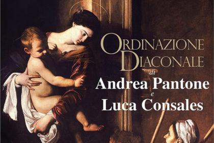 ORDINAZIONE DIACONALE ANDREA PANTONE, LUCA CONSALES